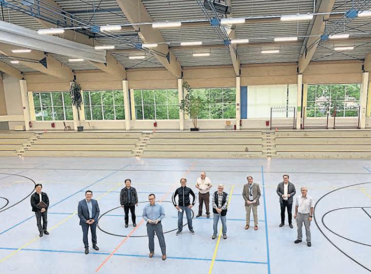 Neue Beleuchtung und Technik in der Wilhelm-Busch-Halle