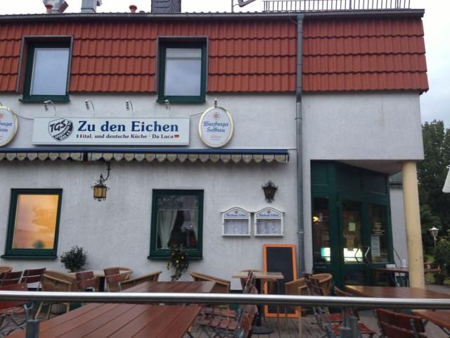 """""""Zu den Eichen"""" Da Luca"""