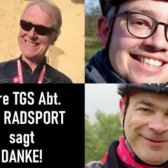 Die neue Radsport-Abteilung der TGS